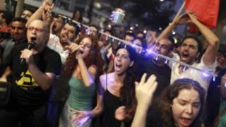 محتجون إسرائيليون