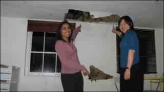 艳秋居住在伦敦市中心的小屋