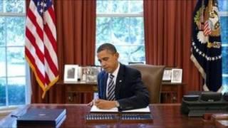 Tổng thống Obama ký điều luật về nợ công hôm 02/08/2011