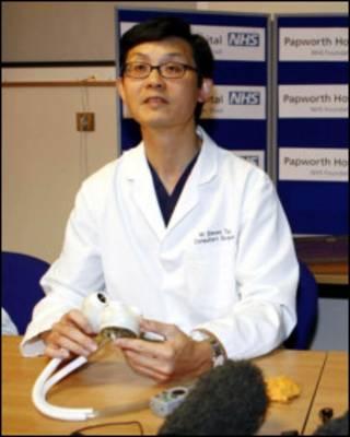 英国华人心脏外科医师Steven Tsui