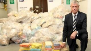 کشف محموله کوکائین در بریتانیا