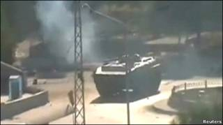 सीरिया में टैंक