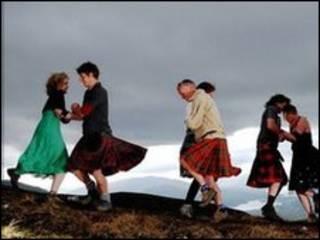 苏格兰人跳舞