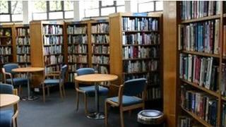 Thư viện ở Anh
