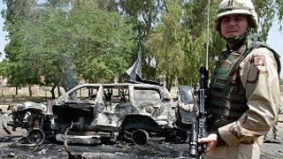 صورة من الإرشيف بشأن أعمال العنف في العراق