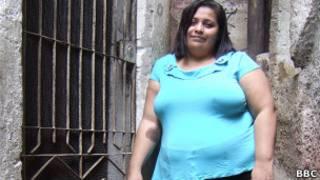 Luiza Souza, 34, moradora da Rocinha, no RJ. Foto: Julia Carneiro. BBC Brasil
