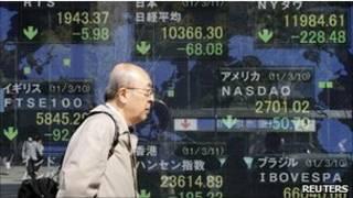 اسواق الاسهم الاسيوية