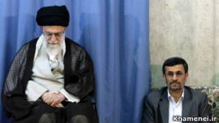 احمدی نژاد، خامنه ای