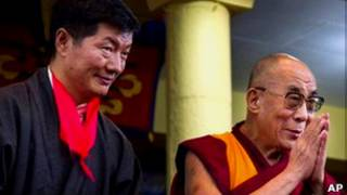 Лобсанг Сангай и Далай-Лама