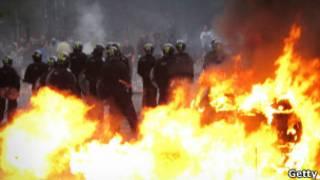 حرائق في هاكني بلندن