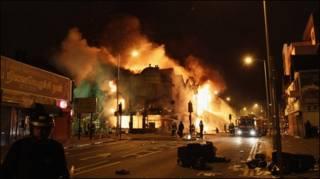 लंदन में दंगे