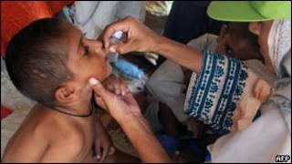 पाकिस्तान में पोलियो अभियान