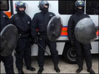 Polisi wa kukabiliana ghasia