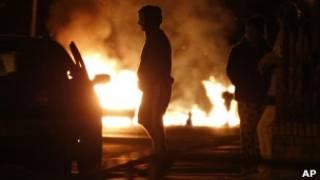 Ночные беспорядки в Манчестере