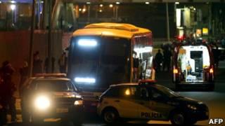 Ônibus da viação Jurema, no Rio de Janeiro. AFP