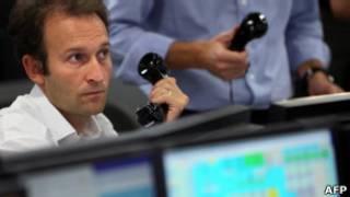 Трейдеры на лондонской бирже