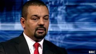 Latif Yahia, durante entrevista ao programa da BBC 'Hard Talk' (BBC)