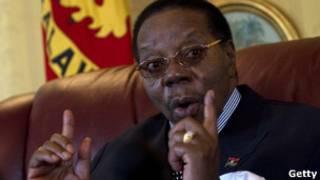 Prezida Bingu wa Mutharika wa Malawi