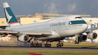 Pesawat Cathay Pacific
