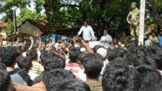 பொதுமக்கள்- படையினர் மத்தியில் முறுகல்
