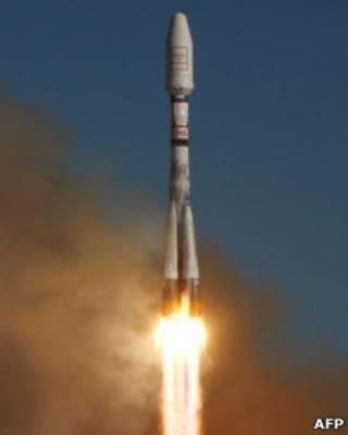 """Запуск ракеты-носителя """"Союз-2"""""""