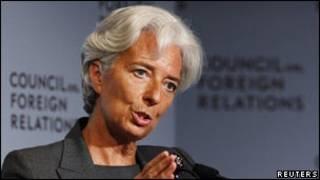 كريستين لاغارد مديرة صندوق النقد الدولي