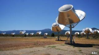 Система телескопов ATA в Институте SETI