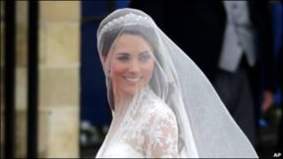 凯特的婚纱