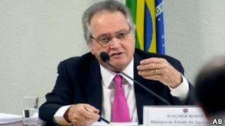 Wagner Rossi, ministro demissionário da Agricultura. ABr