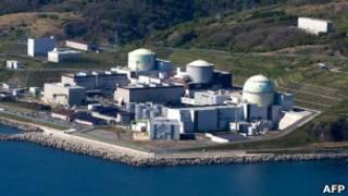 Атомная станция в Томари