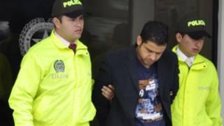 Nazaruddin digelandang polisi