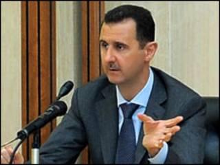 Shugaba Bashar Al Asad na Syria