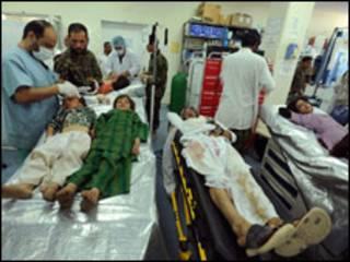 ہیرات دھماکے کے متاثرین