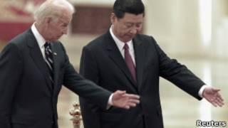 Вице-президент США Байден и зампредседателя КНР Си Цзиньпин