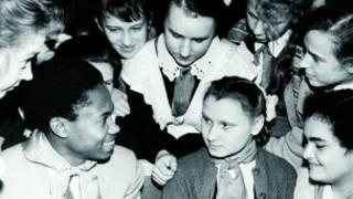Встреча студента РУДН с пионерами
