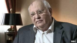 Mikhail Gorbachev. BBC