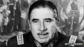 Чилийский диктатор Аугусто Пиночет