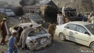 هجوم في اقليم خيبر الباكستاني