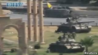 تانکهای ارتش سوریه در حماة-آرشیو