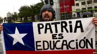 estudiante chileno