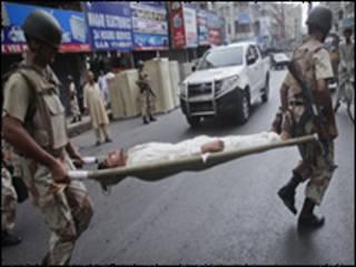 کراچی میں تشدد اور ہلاکتیں