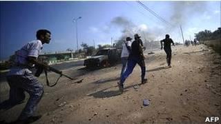 Quân nổi dậy tiến về Tripoli