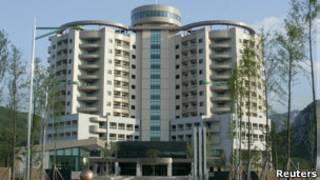 Многоэтажное здание гостиницы