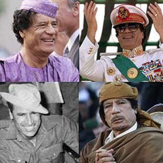 As várias fases de Khadafi