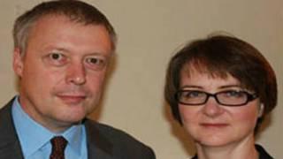 Джонатан Эйвз и Кэтрин Лич