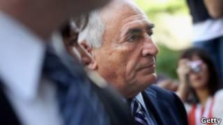 Strauss-Kahn comparece a tribunal em NY nesta terça (Getty)