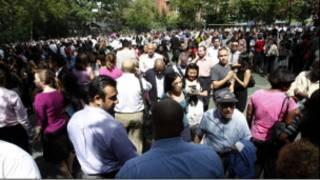 Người dân New York sau động đất