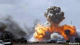 پایان عملیات نظامی در لیبی