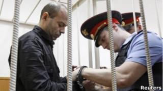 Дмитрий Павлюченков, подозреваемый в организации убийства Анны Политковской