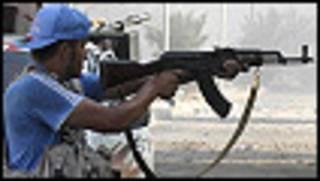 Dakarun 'yan tawaye a Libya